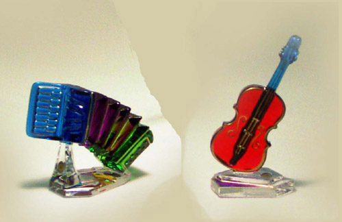Murano Art Glass Collections from MuranoArtGlass.us - Murano Originals 8311 and 8307
